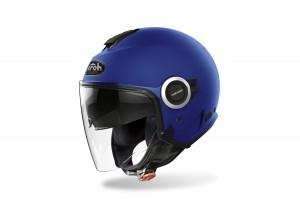 Helm Jet Airoh Helios Color Blau Matt