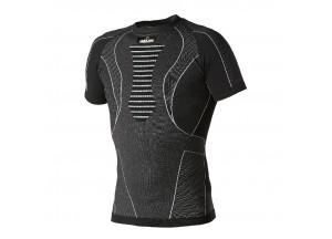 Technisches Kurzarm T-Shirt Hevik Schwarz