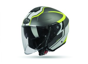 Helm Jet Airoh Hunter Soul Anthrazit Matt
