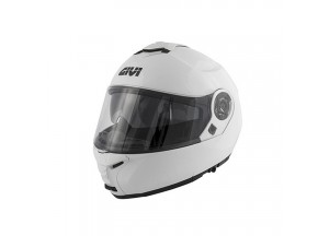 Helm Modular Geöffnet Givi X.20 Expedition Solid Color Glanzend Weiß