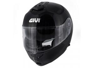 Helm Modular Geöffnet Givi X.20 Expedition Solid Color Glänzend Schwarz
