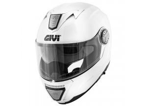 Helm Modular Geöffnet Givi X.23 Sydney Solid Color Weiß