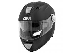 Helm Modular Geöffnet Givi X.23 Sydney Solid Color Matt Schwarz