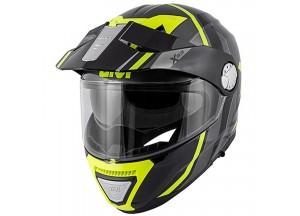 Helm Modular Geöffnet Givi X.33 Canyon Division Titan Gelb