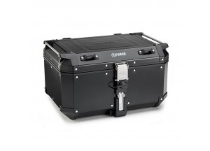 KFR580B - Kappa MONOKEY® Topcase K-FORCE aluminium schwarz lackiert 58 Lt