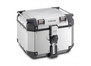 KVE42A - Kappa MONOKEY® Topcase 42 L. K-VENTURE aus 1,5 mm starken Aluminium