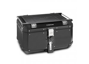 KVE58B - Kappa MONOKEY® Topcase 58 L. K-VENTURE aus 1,5 mm Aluminium Schwarz