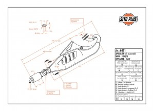 0571 - Schalldaempfer Leovince Sito 2-T Aprilia SR WWW STEALTH RACING NETSCAPER