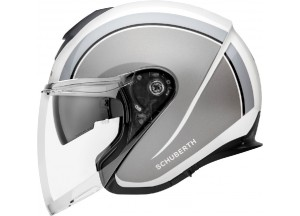Helm Jet Schuberth M1 Pro OUTLINE Grau