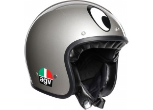 Helm Jet Agv Legends X70 Montjuic Silber