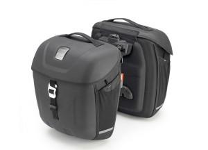 MT501- Givi Paar Thermogeformte Seitentaschen Multilock18 Liter - Linie Metro-T