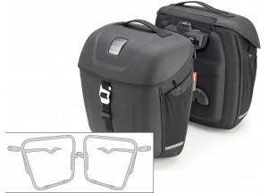 Satteltaschen Givi MT501 + Abstandshalter für Yamaha XSR900 (16)
