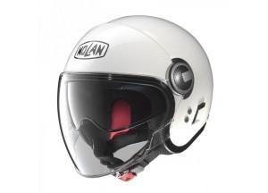 Helm Jet Nolan N21 Visor Classic 5 Metal White