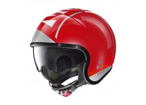 Helm Jet Nolan N21 Avant-Garde 97 Corsa Rot