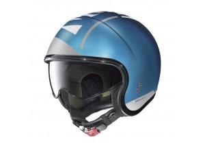 Helm Jet Nolan N21 Avant-Garde 98 Undurchsichtiges Saphirblau