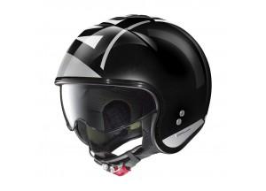 Helm Jet Nolan N21 Avant-Garde 96 Metall Schwarz