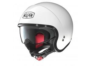 Helm Jet Nolan N21 Classic 5 Metal White