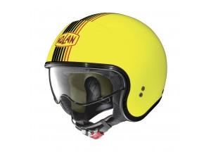 Helm Jet Nolan N21 Joie De Vivre 61 Led Gelb