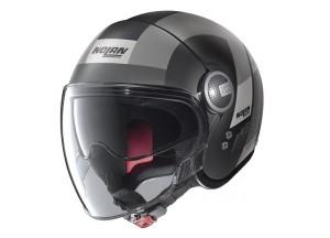 Helm Jet Nolan N21 Visor  Spheroid 48 Matt Schwarz