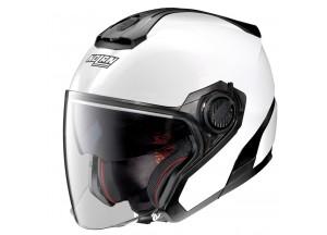 Helm Jet Nolan N40-5 Special 15 Pure Weiß