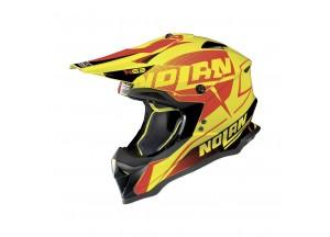 Integral helm Off-Road Nolan N53 Sidewinder 41 Led Gelb