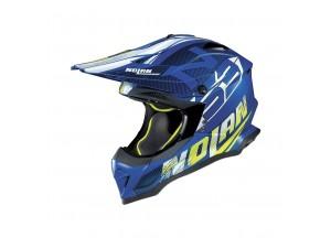 Integral helm Off-Road Nolan N53 Whoop 48 Flat Denim Blau