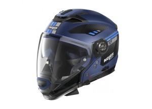 Integral helm Crossover Nolan N70.2 GT Bellavista 27 Flat Imperator Blau