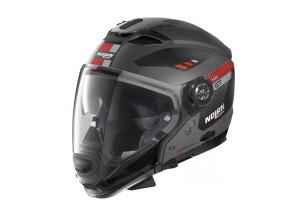 Integral helm Crossover Nolan N70.2 GT Bellavista 23 Flat Lava Grau