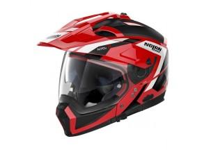 Integral helm Crossover Nolan N70.2 X Grandes Alpes 28 Corsa Rot