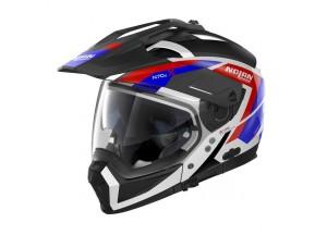 Integral helm Crossover Nolan N70.2 X Grandes Alpes 26 Metal Weiß