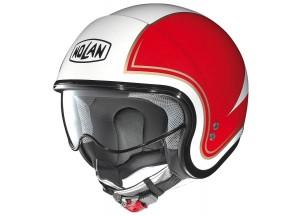 Helm Jet Nolan N21 Tricolore 31 Metal White