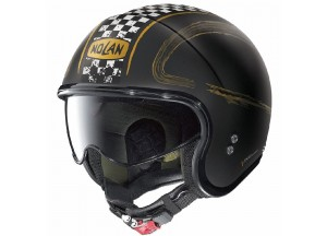 Helm Jet Nolan N21 Getaway 82 Matt Schwarz Gold