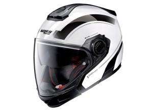Integral helm Crossover Nolan N40-5 GT Resolute 24 Metal Weiß