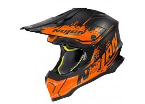 Integral helm Off-Road Nolan N53 Savannah 66 Matt Schwarz Orange