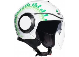 Helm Jet Agv Orbyt Ginza Italy Weiß