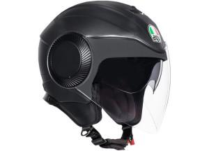 Helm Jet Agv Orbyt Matt Schwarz