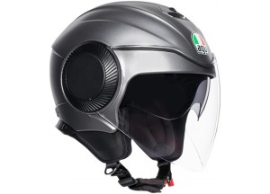 Helm Jet Agv Orbyt Matt Grau