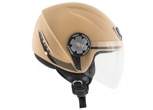 Helm Jet Givi 10.4F Solid Colour Matt Sand