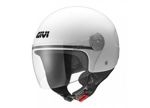 Helm Jet Givi 10.7 Mini-J Solid Colour Weiß