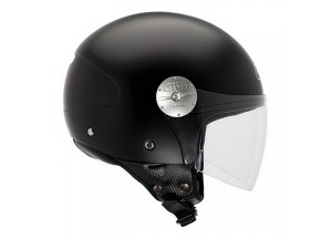 Helm Jet Givi 10.7 Mini-J Solid Colour Matt Schwarz