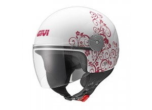 Helm Jet Givi 10.7 Mini-J Graphic Art Nouveau Pink
