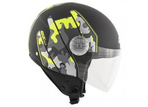 Helm Jet Givi 10.7 Mini-J Graphic Camouflage