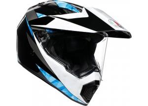 Integral Helm Agv AX 9 North Schwarz Weiß