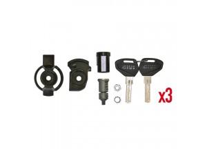 SL103 - Givi Security Lock Schlüssel-Set für 3 Koffer, inklusive Buchsen
