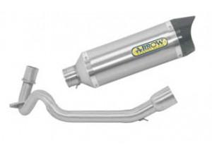 Kit Auspuff Arrow topf T / C + krümmer Aprilia SR 125 Motard '12>