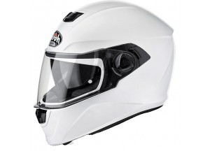 Integral Helm Airoh Storm Color Weiss Glanzed