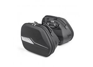 ST604 - Givi Paar Erweiterbar Thermogeformt Seitentaschen Multilock 22lt
