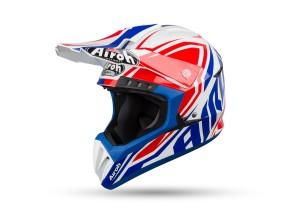 Integral helm Off-Road Airoh Switch Impact Blau Glänzend