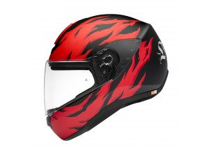 Helm Integralhelme Schuberth R2 Renegade Rot