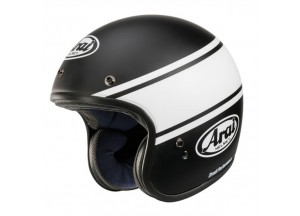 Helm Jet Arai Freeway Classic Bandage Schwarz